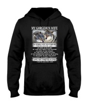 Wolf Gonna Love You Wife Hooded Sweatshirt thumbnail