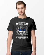 Don't Talk To me Wolf  Classic T-Shirt lifestyle-mens-crewneck-front-15