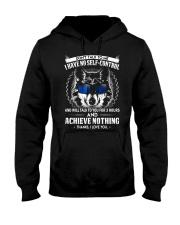 Don't Talk To me Wolf  Hooded Sweatshirt thumbnail