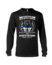 Don't Talk To me Wolf  Long Sleeve Tee thumbnail