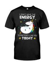 Unicorn Energy T-shirt Classic T-Shirt thumbnail