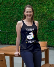 Unicorn Energy T-shirt Ladies Flowy Tank lifestyle-bellaflowy-tank-front-1