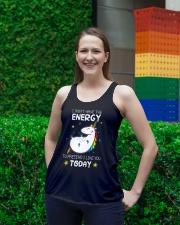 Unicorn Energy T-shirt Ladies Flowy Tank lifestyle-bellaflowy-tank-front-2