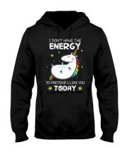 Unicorn Energy T-shirt Hooded Sweatshirt thumbnail