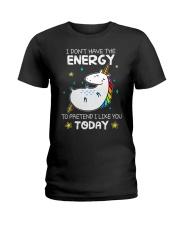 Unicorn Energy T-shirt Ladies T-Shirt thumbnail