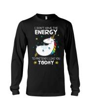 Unicorn Energy T-shirt Long Sleeve Tee thumbnail