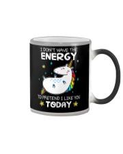 Unicorn Energy T-shirt Color Changing Mug thumbnail