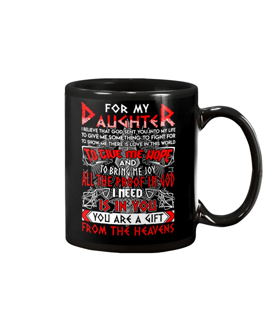 Viking Daughter Is Gift From The heavens Mug