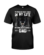 Proud Dad Wolf  Classic T-Shirt tile