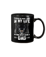 Proud Dad Wolf  Mug tile