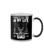 Proud Dad Wolf  Color Changing Mug thumbnail