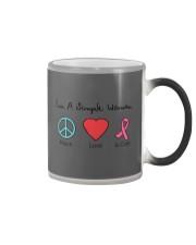 Breast Cancer Simple Woman T-shirt Color Changing Mug thumbnail