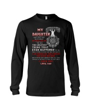 Viking Dad Daughter Don't Forget I Love You Long Sleeve Tee thumbnail