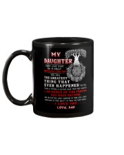 Viking Dad Daughter Don't Forget I Love You Mug back