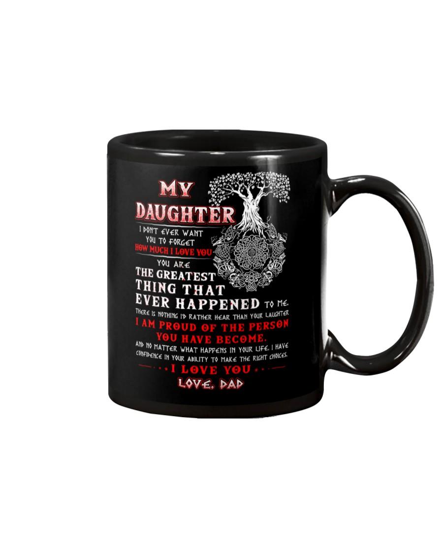 Viking Dad Daughter Don't Forget I Love You Mug