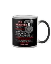 Viking Dad Daughter Don't Forget I Love You Color Changing Mug thumbnail