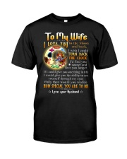 Wife Turn Back The Clock See Yourself Through Eyes Classic T-Shirt thumbnail