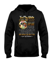 Wife Turn Back The Clock See Yourself Through Eyes Hooded Sweatshirt thumbnail
