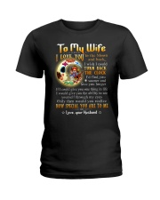 Wife Turn Back The Clock See Yourself Through Eyes Ladies T-Shirt thumbnail