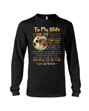 Wife Turn Back The Clock See Yourself Through Eyes Long Sleeve Tee thumbnail