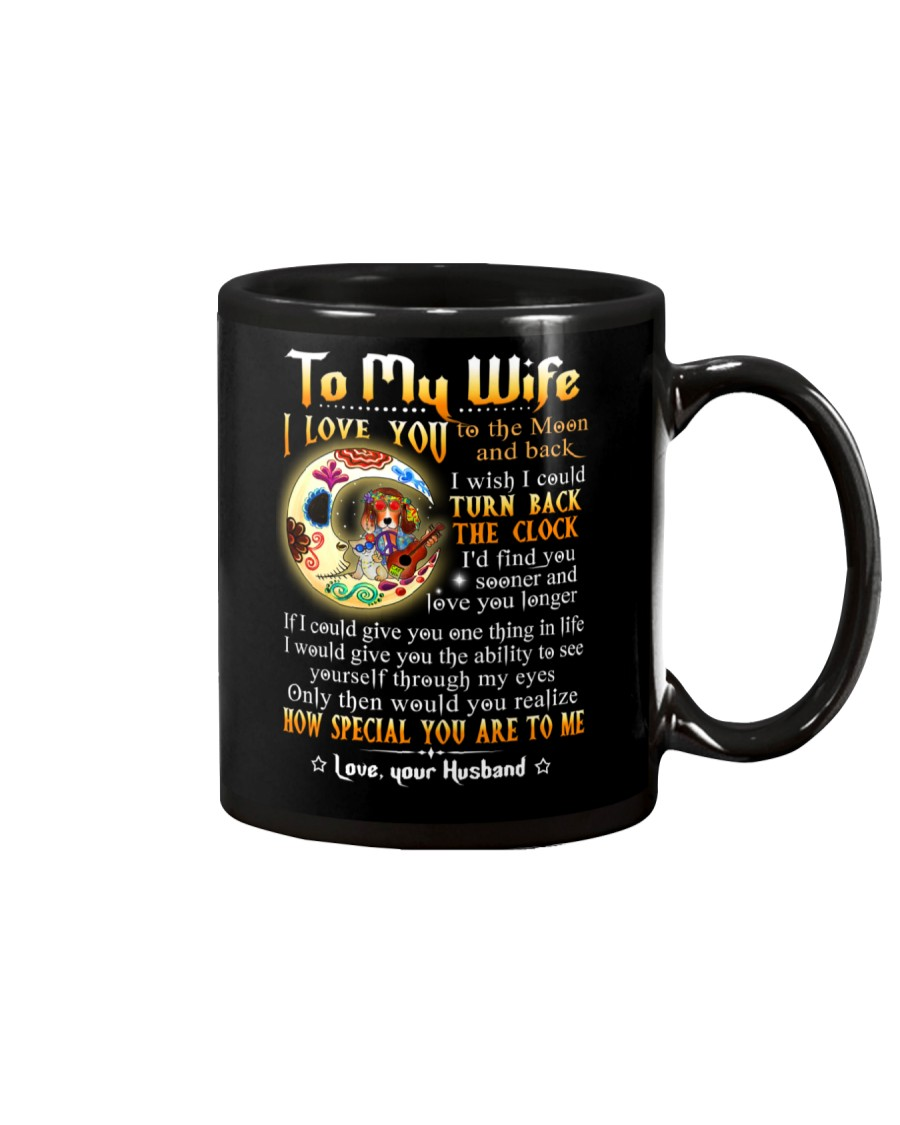 Wife Turn Back The Clock See Yourself Through Eyes Mug