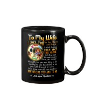 Wife Turn Back The Clock See Yourself Through Eyes Mug front