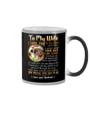 Wife Turn Back The Clock See Yourself Through Eyes Color Changing Mug thumbnail