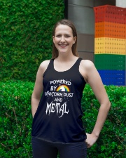 Unicorn Dust And Metal Ladies Flowy Tank lifestyle-bellaflowy-tank-front-2