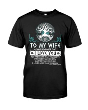 Viking I Love You Wife Classic T-Shirt thumbnail