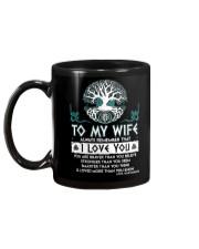 Viking I Love You Wife Mug back