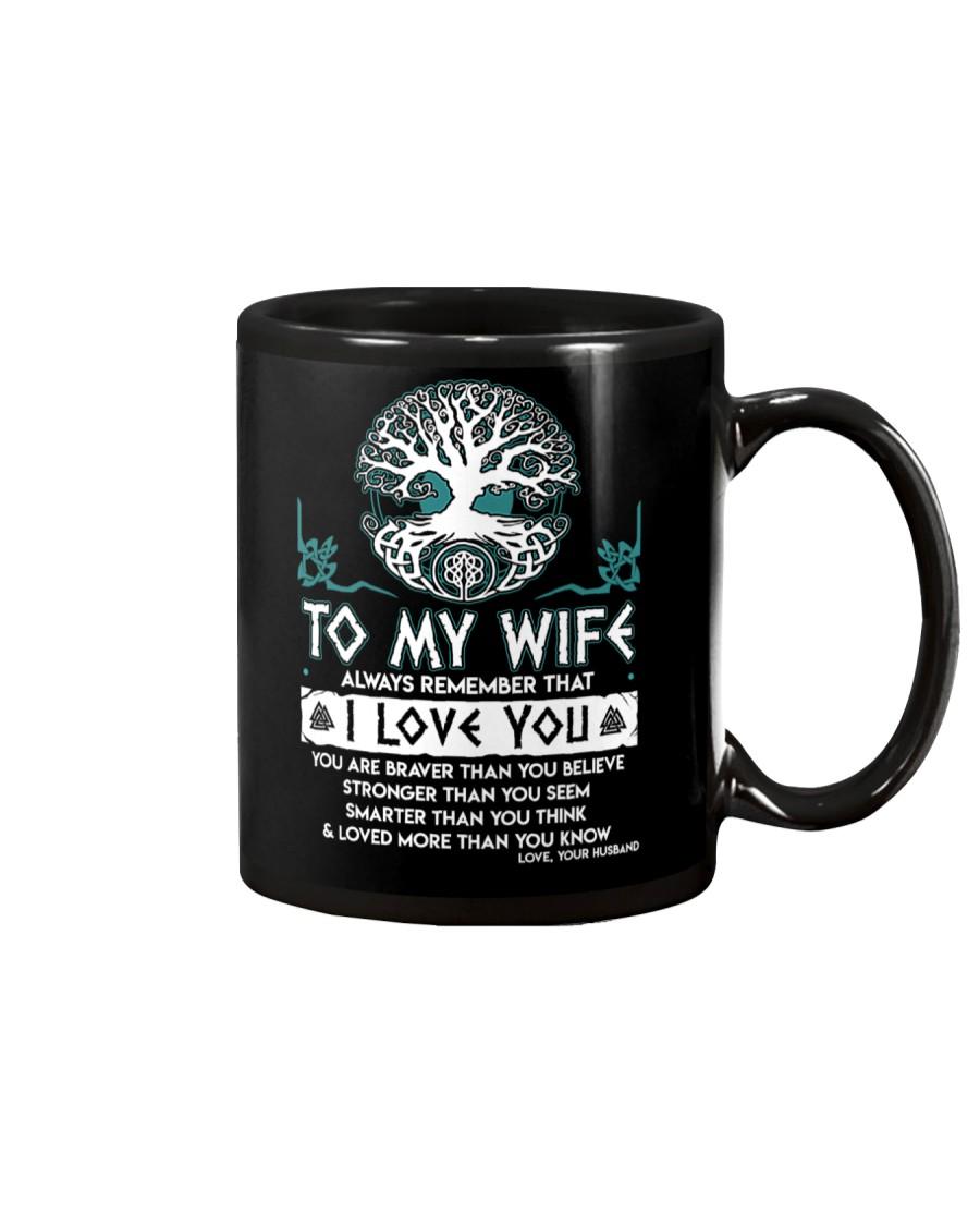 Viking I Love You Wife Mug