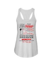Family Girlfriend In Your Eyes I Have Found My Hom Ladies Flowy Tank thumbnail