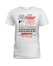 Family Girlfriend In Your Eyes I Have Found My Hom Ladies T-Shirt thumbnail