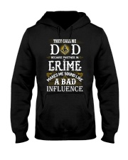 Freemason Dad Partner In Crime Hooded Sweatshirt thumbnail