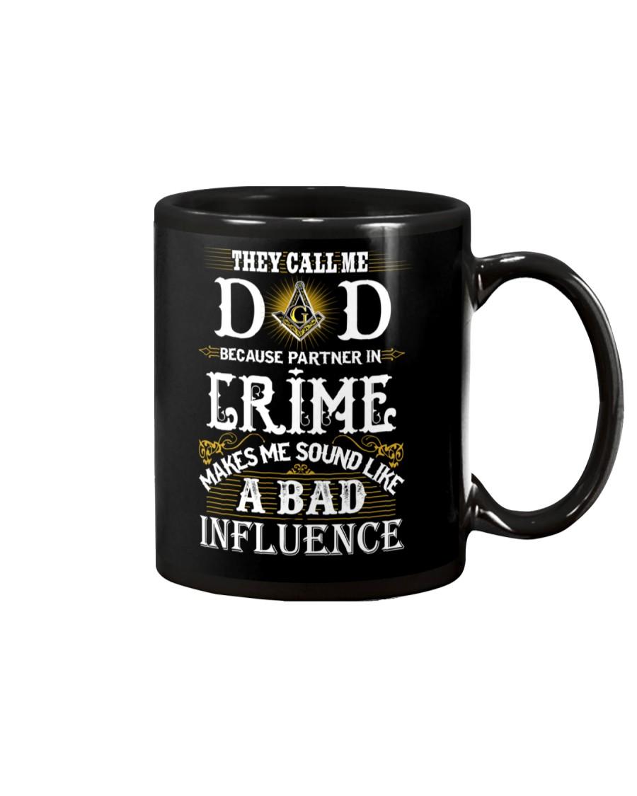 Freemason Dad Partner In Crime Mug