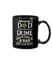 Freemason Dad Partner In Crime Mug front
