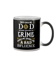 Freemason Dad Partner In Crime Color Changing Mug thumbnail