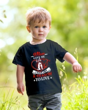 Mom Gave Me Life Youth T-Shirt lifestyle-youth-tshirt-front-5