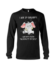 Grumpy Elephant  Long Sleeve Tee thumbnail
