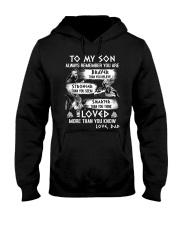 Son Always Remember Viking Mug Hooded Sweatshirt thumbnail