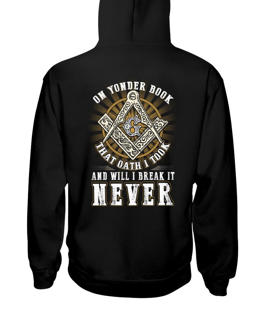 ON YONDER BOOK AN OATH I TOOK Hooded Sweatshirt