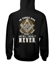 ON YONDER BOOK AN OATH I TOOK Hooded Sweatshirt thumbnail
