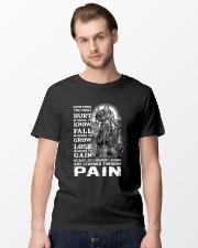 Vikings Through Pain Shirt Classic T-Shirt lifestyle-mens-crewneck-front-15