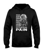 Vikings Through Pain Shirt Hooded Sweatshirt thumbnail