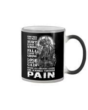 Vikings Through Pain Shirt Color Changing Mug thumbnail