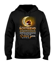 Love You More Beatles Boyfriend  Hooded Sweatshirt tile