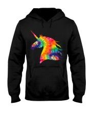 Unicorn Tie Dye Hooded Sweatshirt thumbnail