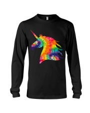 Unicorn Tie Dye Long Sleeve Tee thumbnail