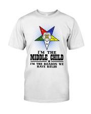 Freemason The Child Rules Classic T-Shirt thumbnail