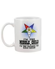 Freemason The Child Rules Mug back